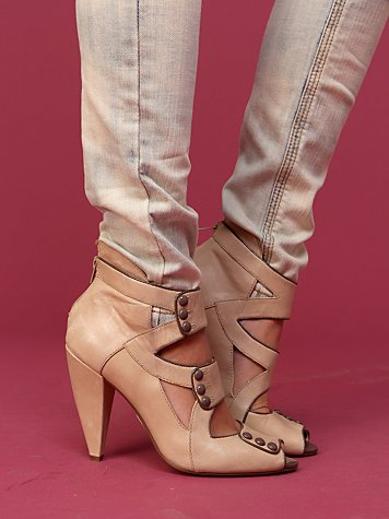 Belle Strappy Ankle Boot :  ankle boot strappy sandals shoes