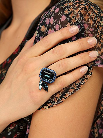 Sugar Plum Crystal Ring from freepeople.com