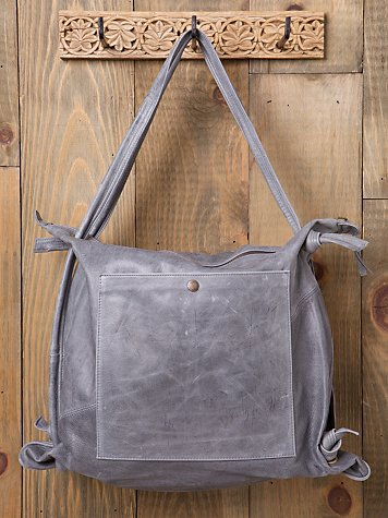 Bolu Leather Convertible Backpack