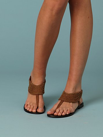 Mindy Beaded Sandal