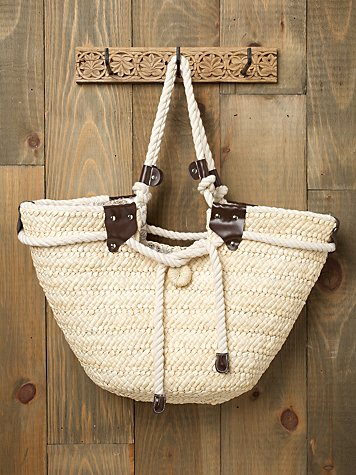 Straw & Rope Tote from freepeople.com