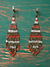 Beaded Beach Shake Earring