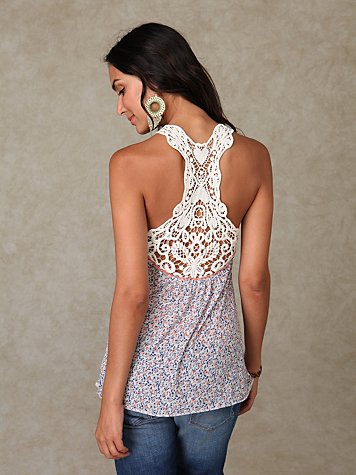Sleeveless Home Sweet Home Tunic at Free People Clothing Boutique