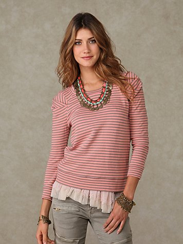 Seaman's Striped Pullover