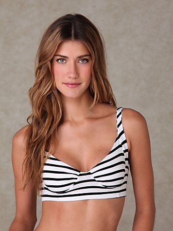Striped Cropped Bralette