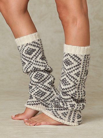 Peruvian Pattern Legwarmer from freepeople.com