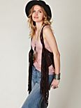 Wrapped in Fringe Vest Belt