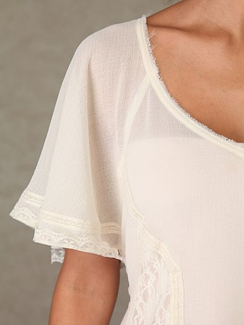 Lace Remembrance Top