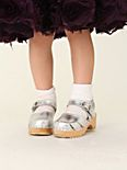 Wee People Metallic Clog Sandal
