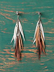 Kenya Feather Earrings