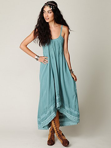 Free People FP ONE Sunburst Maxi Dress