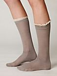 Chantilly Trim Sock