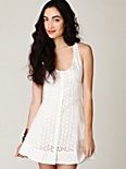 Center of Attention Eyelet Dress