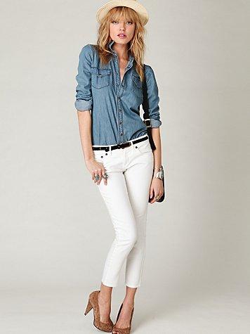 FP Skinny Cropped Jean