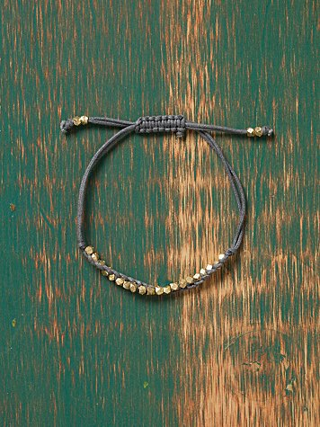 Golden Nugget Bracelet at Free People Clothing Boutique