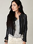 Blur Leather Jacket