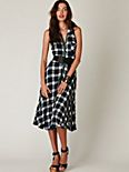 Plaid House Dress