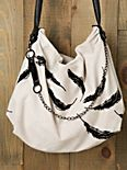Leigh Feather Bag