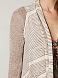 Mini Stripe Long Cardi