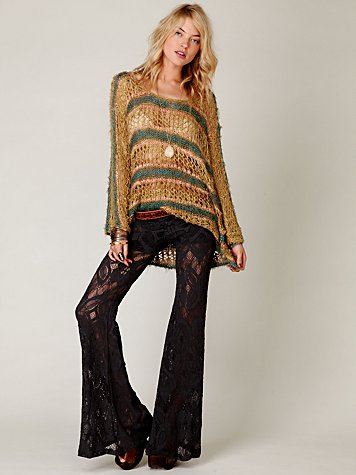 Nightcap Lace Bell Bottom