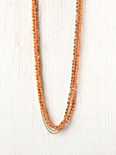 Aloha Bead and Chain Necklace