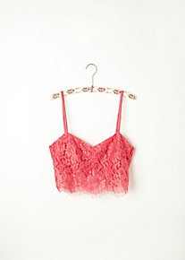 Zinke Lace Crop Bralette in intimates-bras
