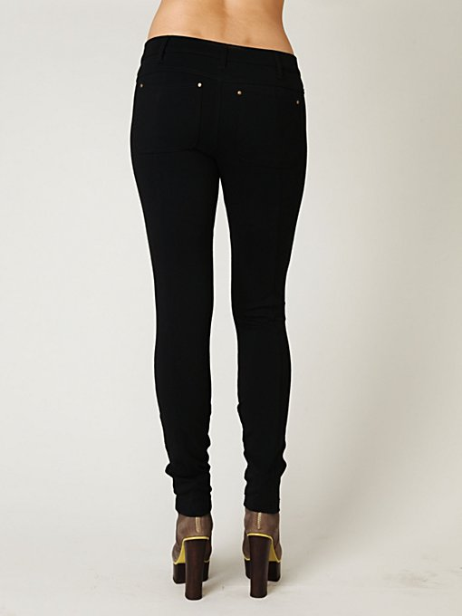 5 Pocket Seamed Knit Legging
