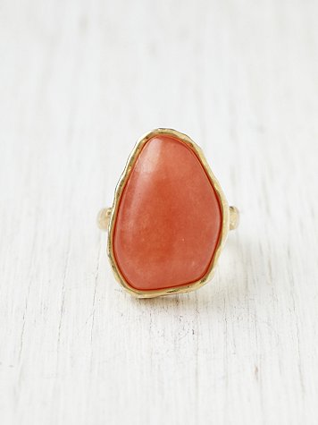 Irregular Quartz Ring