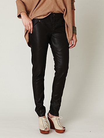 FP Skinny Vegan Leather Pant