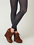 Sheer Heather Footless Tight