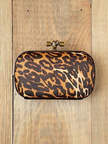Leo & Tricia Pillbox Clutch