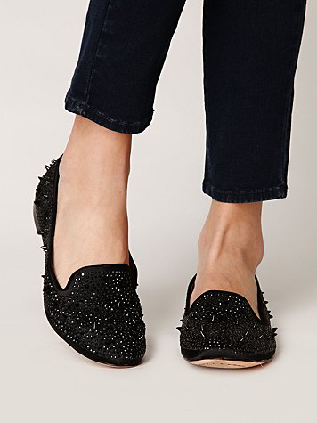 Metal Shimmer Loafer