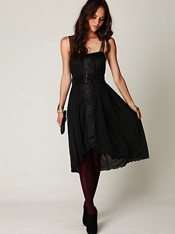 Free People FP New Romantics Twilight Details Dress