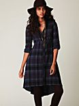 Traveling Rodeo Plaid Dress