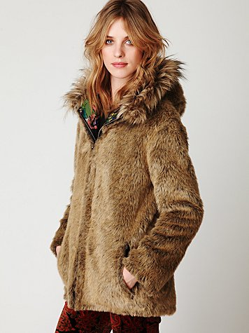 FP ONE Reversible Fur Parka
