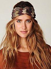 Zigzag Print Turban Headband
