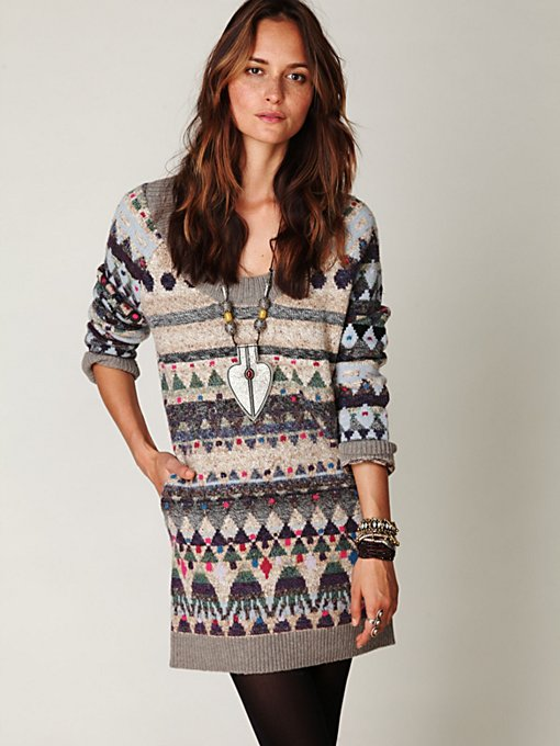Eagle Fairisle Tunic