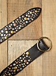 Hammered Stud Hip Belt