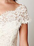 Porcelain Lace Off the Shoulder Top