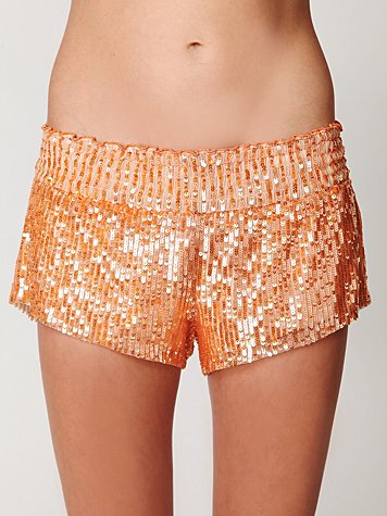 Sequin Boxer Short