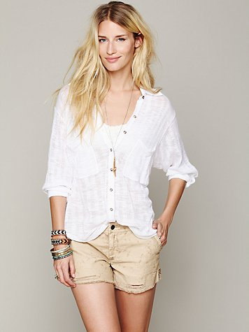 Free People Stavros Buttondown