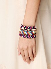 Embellished Friendship Cuff