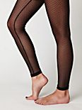 Mesh Dot Legging