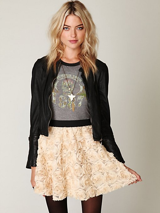 Rosey Holiday Skirt