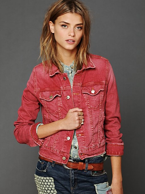 M2f Along The Way Denim Jacket in lightweight-jackets