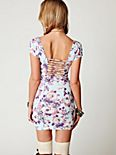 Cage Back Bodycon Slip
