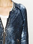 Sequin Baseball Jacket