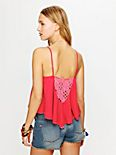 On the Fringe Crochet Cami