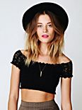 Crochet Seamless Crop Top