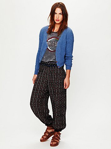Free People Ikat Printed Balloon Pant